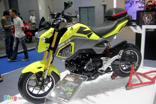 Honda ra mat MSX 2016 tai Thai Lan, gia gan 2.000 USD hinh anh 2