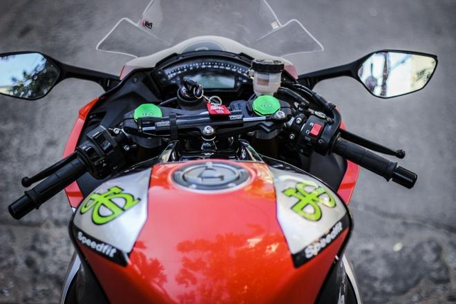 Kawasaki ZX10R son tem va do do choi cua biker Dong Nai hinh anh 4