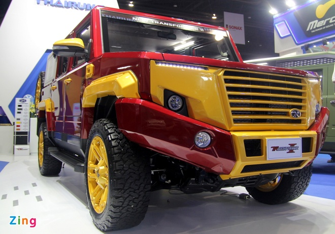 Toyota Hilux do phong cach Iron Man anh 2