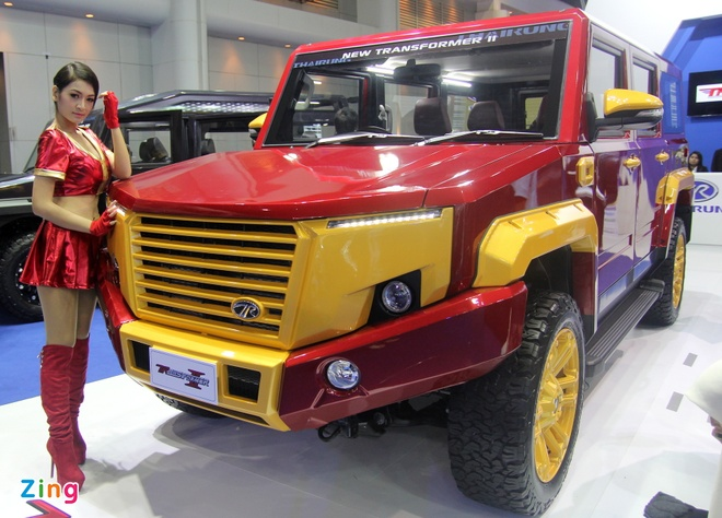 Toyota Hilux do phong cach Iron Man anh 6