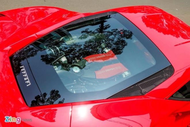 Sieu xe Ferrari 488 GTB dau tien ra bien so TP HCM hinh anh 5
