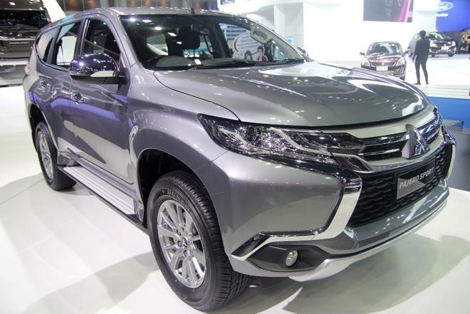 Mitsubishi Pajero Sport 2016 gia tu 733 trieu tai Thai Lan hinh anh