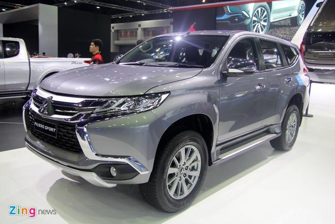 Mitsubishi Pajero Sport 2016 gia tu 733 trieu tai Thai Lan hinh anh 1
