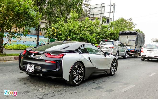 BMW i8 mau la cua dai gia ca phe o Sai Gon hinh anh 5