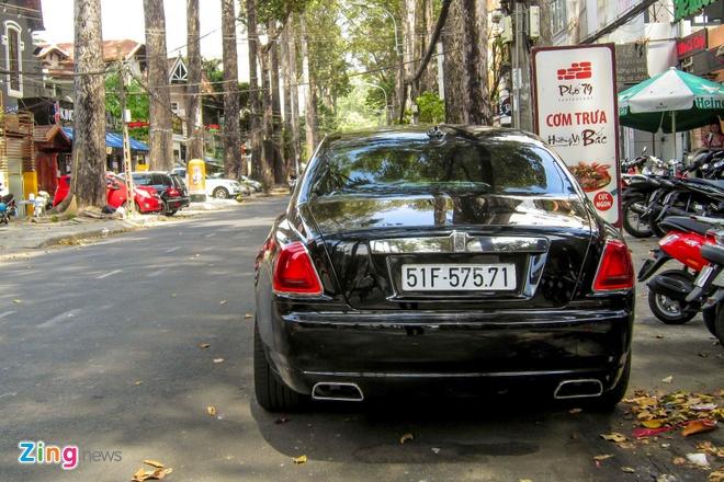 Rolls-Royce Ghost Series II dau tien ra bien so o Sai Gon hinh anh 10