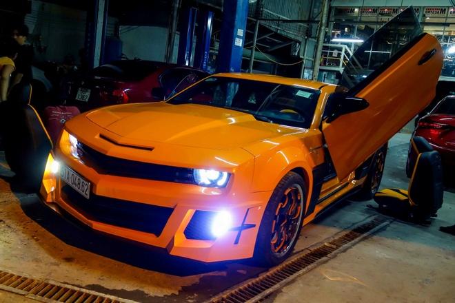 Chevrolet Camaro do phong cach Transformers o Sai Gon hinh anh