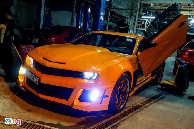 Chevrolet Camaro do phong cach Transformers o Sai Gon hinh anh 1