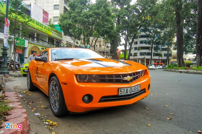 Chevrolet Camaro do phong cach Transformers o Sai Gon hinh anh 10