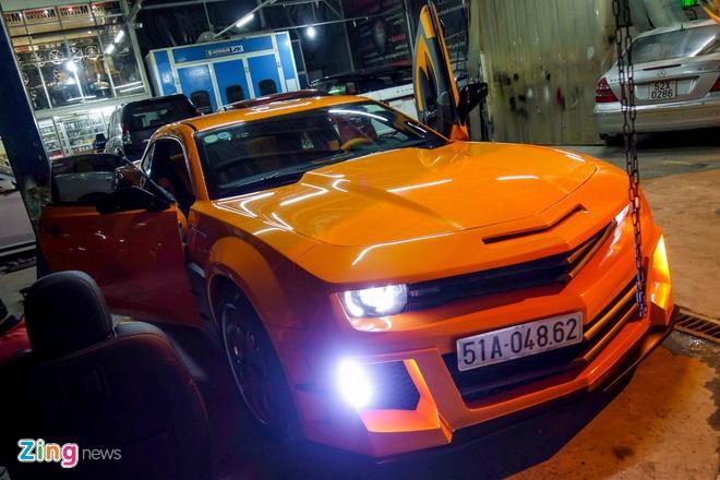 Chevrolet Camaro do phong cach Transformers o Sai Gon hinh anh 2
