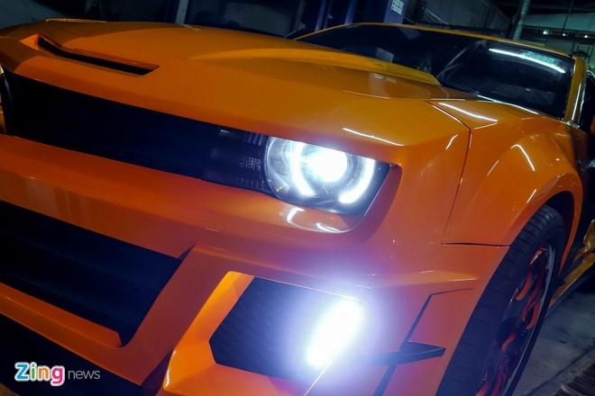 Chevrolet Camaro do phong cach Transformers o Sai Gon hinh anh 3