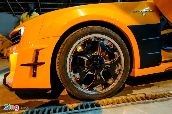 Chevrolet Camaro do phong cach Transformers o Sai Gon hinh anh 4