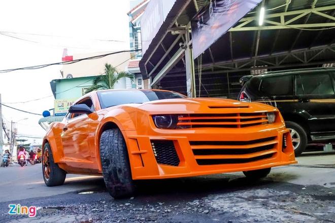 Chevrolet Camaro do phong cach Transformers o Sai Gon hinh anh 6