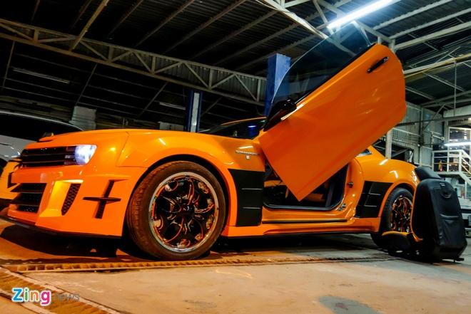 Chevrolet Camaro do phong cach Transformers o Sai Gon hinh anh 8