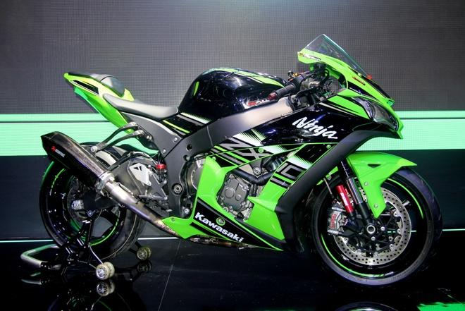 Sieu moto Kawasaki ZX-10R 2016 gia 549 trieu tai Viet Nam hinh anh