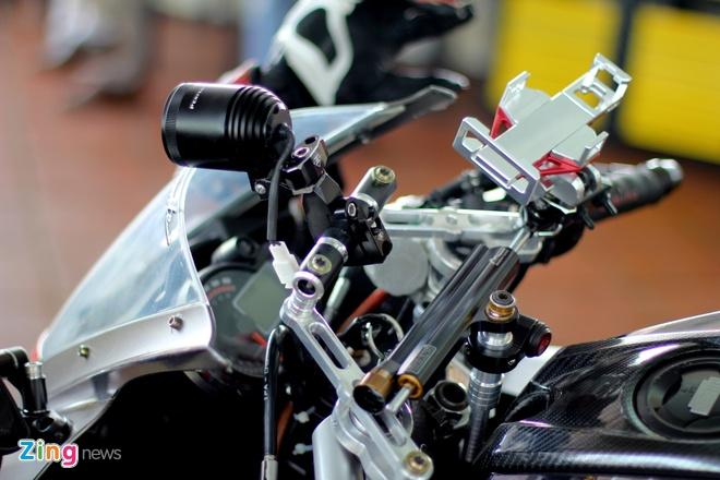 Dan xe do cua biker Sai Gon tap trung hinh anh 10