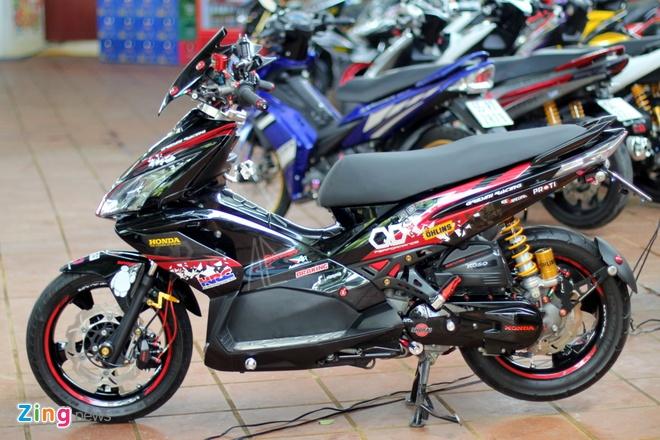 Dan xe do cua biker Sai Gon tap trung hinh anh 5