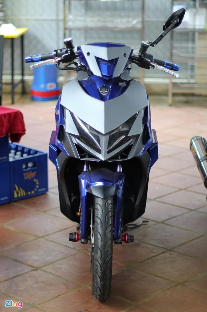 Dan xe do cua biker Sai Gon tap trung hinh anh 7