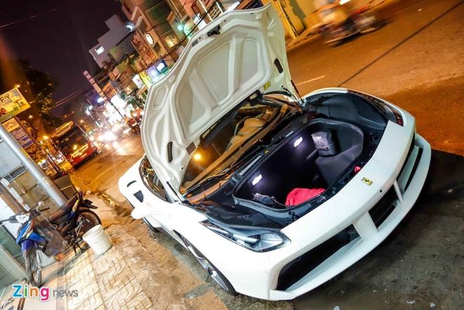 Sieu xe Ferrari 488 GTB thu 4 xuat hien tai Viet Nam hinh anh 4