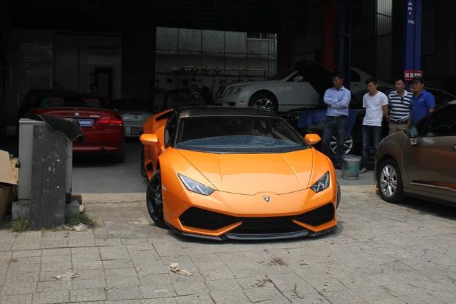 Lamborghini Huracan do po tram trieu o Da Nang hinh anh 10