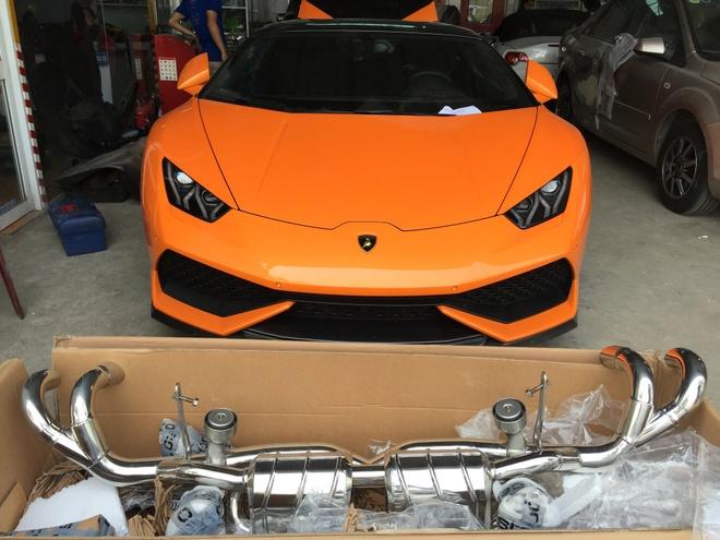 Lamborghini Huracan do po tram trieu o Da Nang hinh anh 1