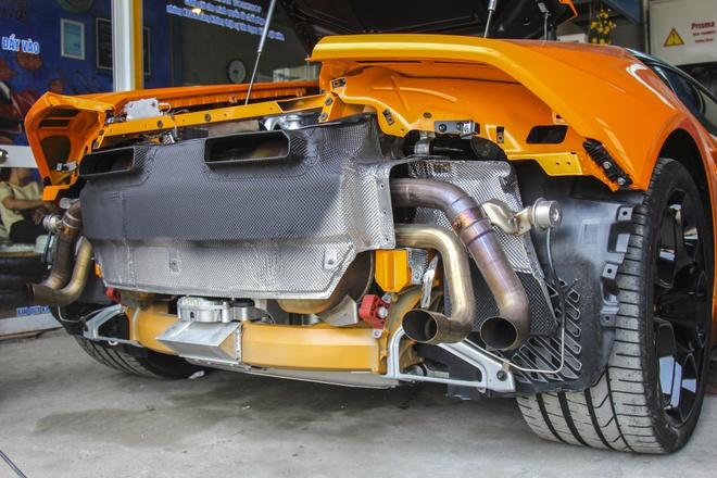Lamborghini Huracan do po tram trieu o Da Nang hinh anh