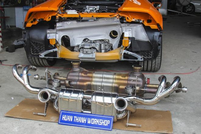 Lamborghini Huracan do po tram trieu o Da Nang hinh anh 3