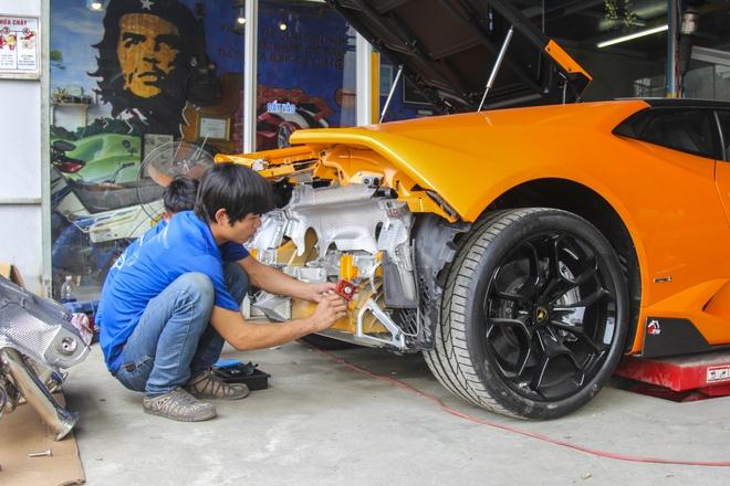 Lamborghini Huracan do po tram trieu o Da Nang hinh anh 4