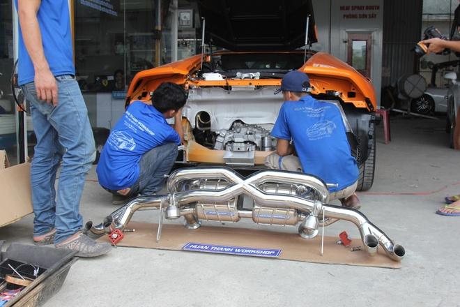 Lamborghini Huracan do po tram trieu o Da Nang hinh anh 5