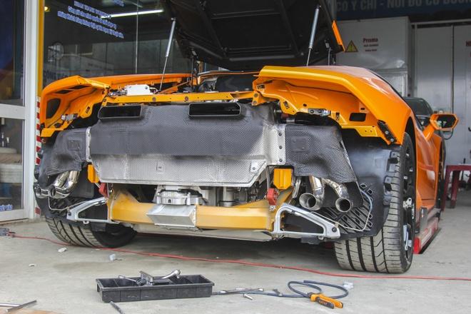 Lamborghini Huracan do po tram trieu o Da Nang hinh anh 8