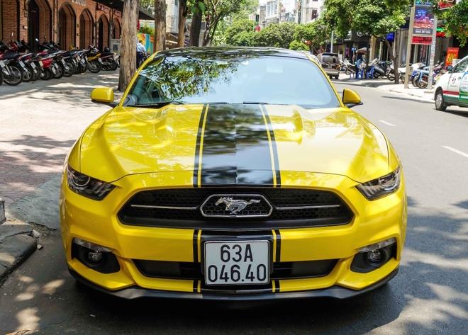 Ford Mustang ban dac biet cua thieu gia Tien Giang hinh anh