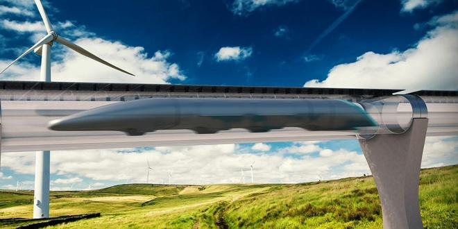 Hyperloop cua ty phu Elon Musk anh 1
