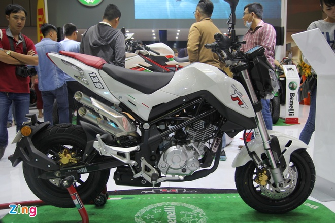 Benelli TNT Naked T-135 o Viet Nam anh 1