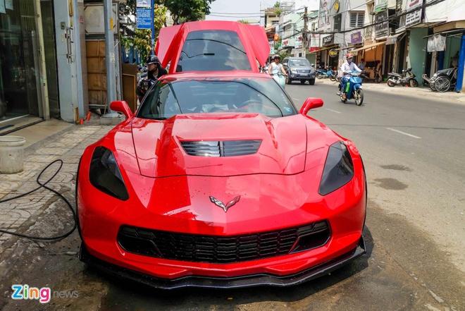 Sieu xe Chevrolet Corvette Z06 lap ghe xe dua ve Viet Nam hinh anh 1
