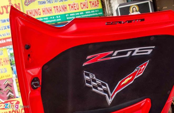 Sieu xe Chevrolet Corvette Z06 lap ghe xe dua ve Viet Nam hinh anh 8