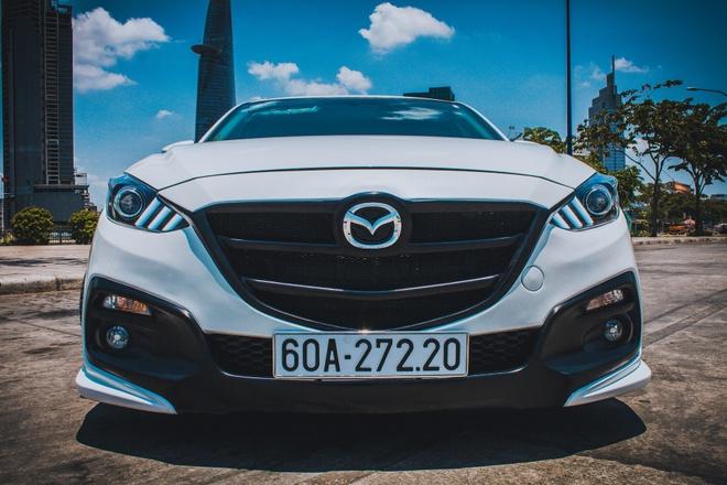 Mazda 3 do du do choi bien so Dong Nai hinh anh 2