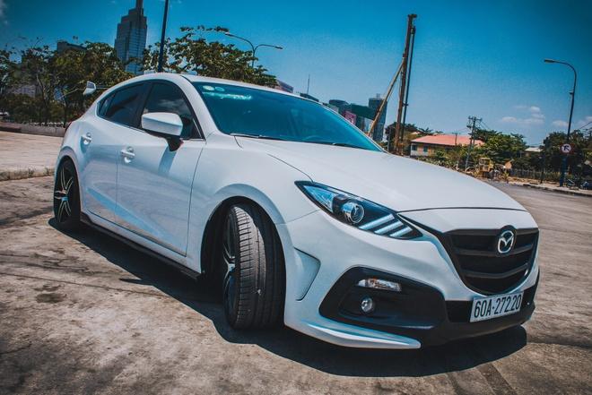 Mazda 3 do du do choi bien so Dong Nai hinh anh
