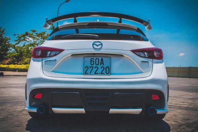Mazda 3 do du do choi bien so Dong Nai hinh anh 4