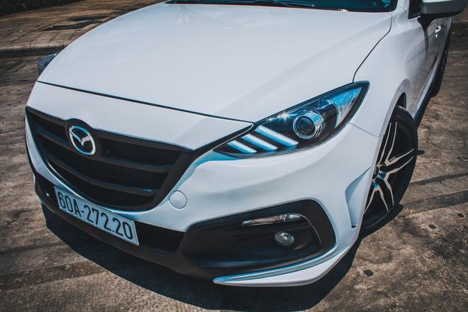 Mazda 3 do du do choi bien so Dong Nai hinh anh 9