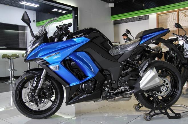 Kawasaki Z1000SX - phien ban duong truong cua Z1000 ve VN hinh anh