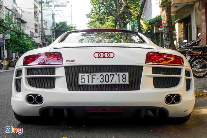 Sieu xe Audi R8 do po Capristo xuat hien tren pho Sai Gon hinh anh 7