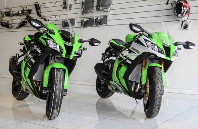 So sanh sieu moto Kawasaki ZX-10R ban cu va moi hinh anh