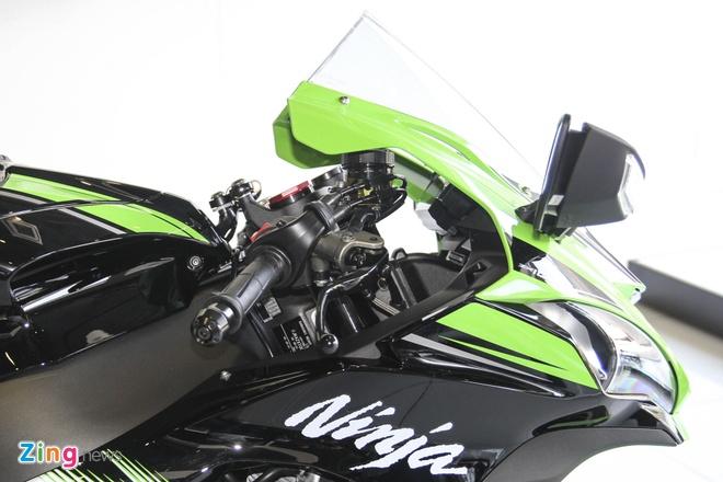 So sanh sieu moto Kawasaki ZX-10R ban cu va moi hinh anh 15
