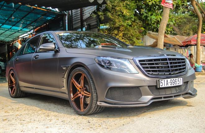 Mercedes S500 o Sai Gon lot xac nho goi do 25.000 USD hinh anh