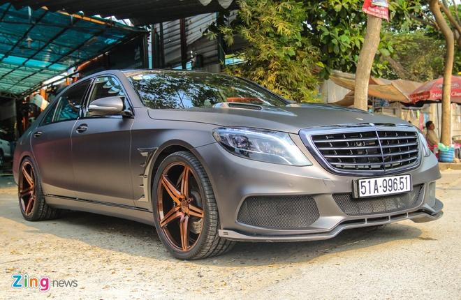 Mercedes S500 o Sai Gon lot xac nho goi do 25.000 USD hinh anh 1