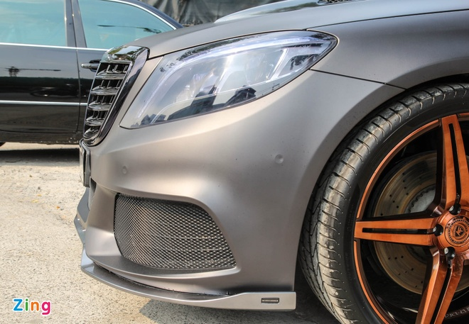 Mercedes S500 o Sai Gon lot xac nho goi do 25.000 USD hinh anh 10