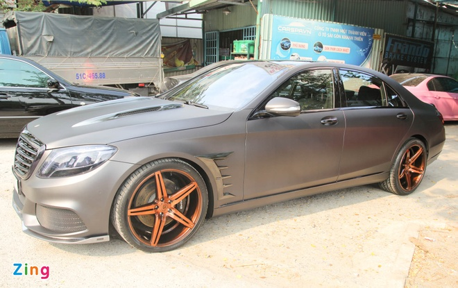 Mercedes S500 o Sai Gon lot xac nho goi do 25.000 USD hinh anh 13
