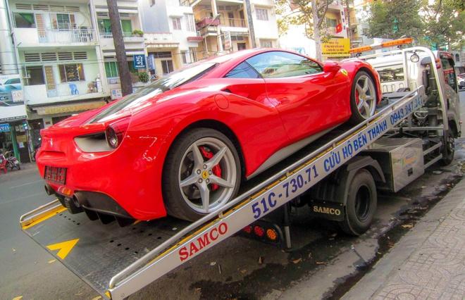 Sieu xe Ferrari 488 GTB thu 5 ve Viet Nam hinh anh