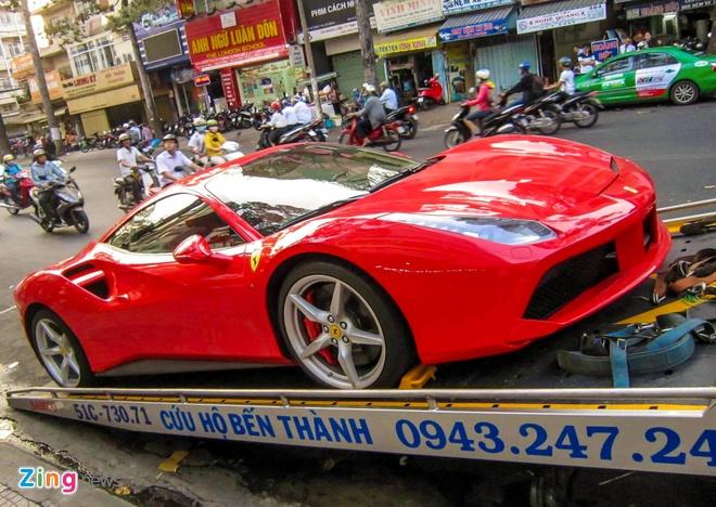 Sieu xe Ferrari 488 GTB thu 5 ve Viet Nam hinh anh 1