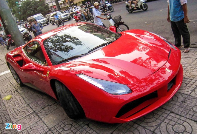 Sieu xe Ferrari 488 GTB thu 5 ve Viet Nam hinh anh 4