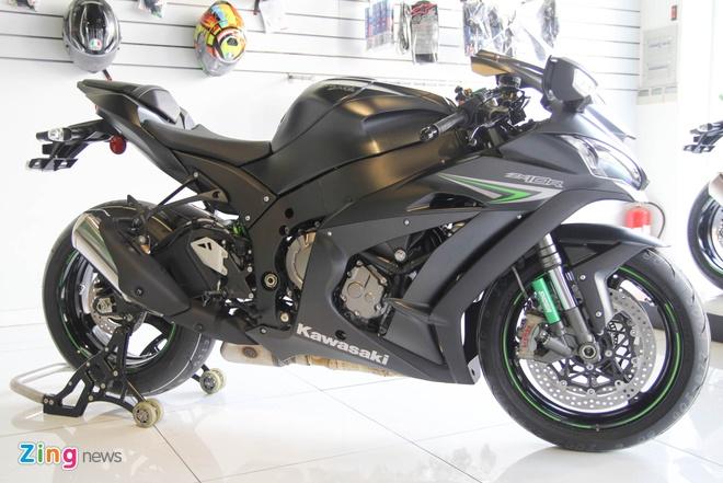 Sieu moto Kawasaki ZX-10R mau moi ve Viet Nam hinh anh 1